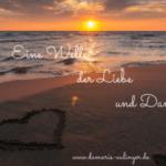 Eine Welle der Liebe und Dankbarkeit – Der Liebster Award